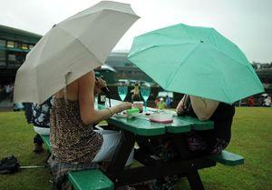 Rainumbrelladinner