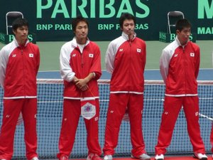 Daviscupjapanteam