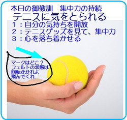 Sayingconcentrationball